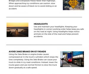 Trucking Safety Tips for the Holiday