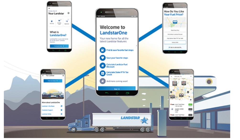 landstarone mobile app  u2013 owner operator one stop shop